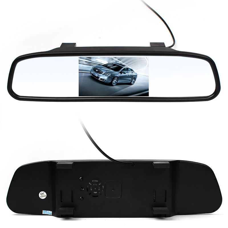 High Quality 4.3 inch Car Monitor LED Rear View Mirror Monitor Camera Video Auto Parking Assistance LED Night Vision Reversing