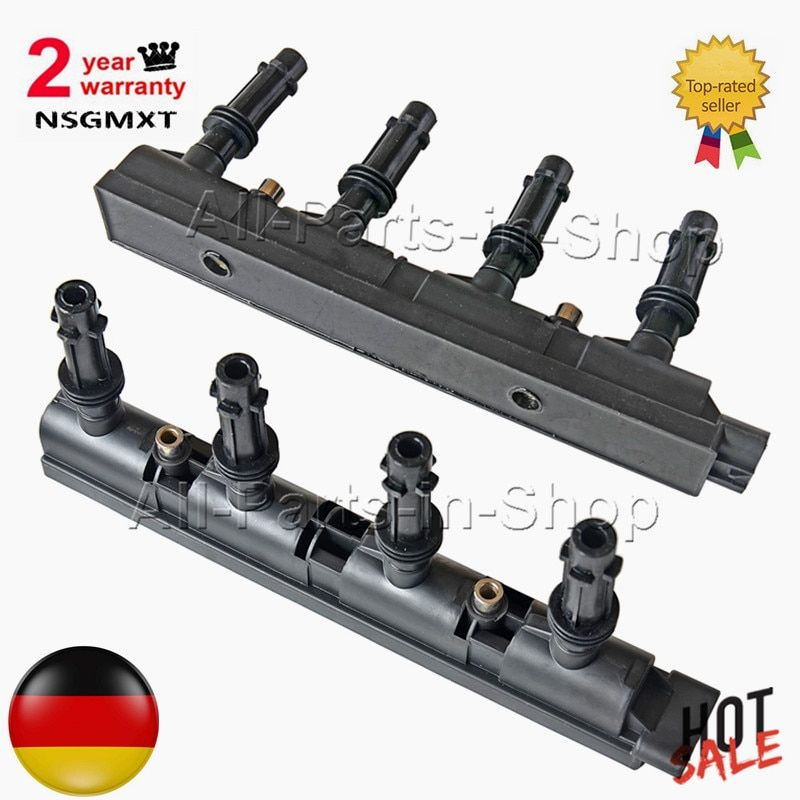 Ignition Coil Pack For Opel Vauxhall Astra J Adam Corsa 1.4 -7 Pin 55577898 55579092 55575499 55573735 55579072 1208093 1208096
