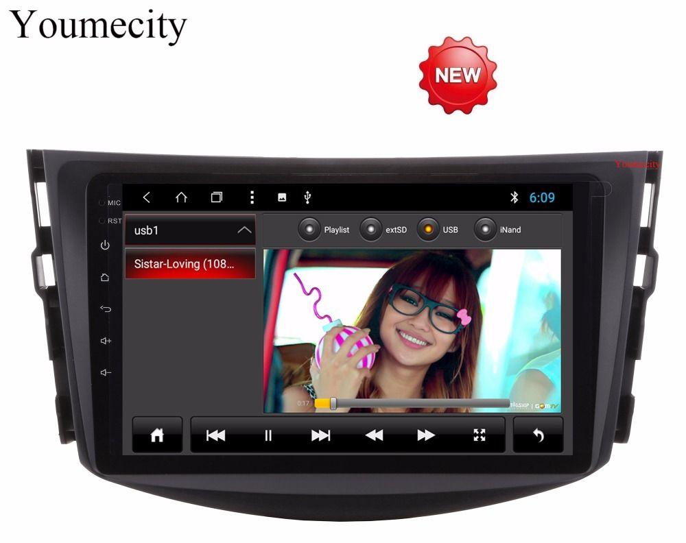 Youmecity Octa Core Android 8.1 Auto head unit Media Player für Toyota RAV4 Audio Video Stereo GPS Navigation Radio RDS Wifi