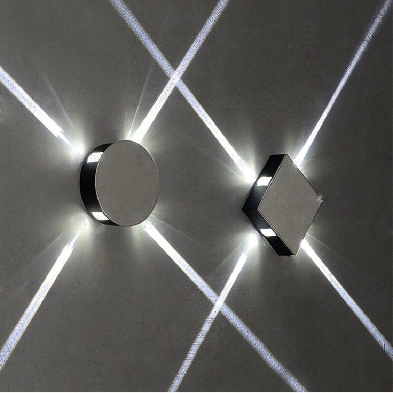 NOOSION Modern Wall Lamp for Aisle Stair LED Circle Wall Light Loft Fixtures applique murale luminaire candeeiros de parede