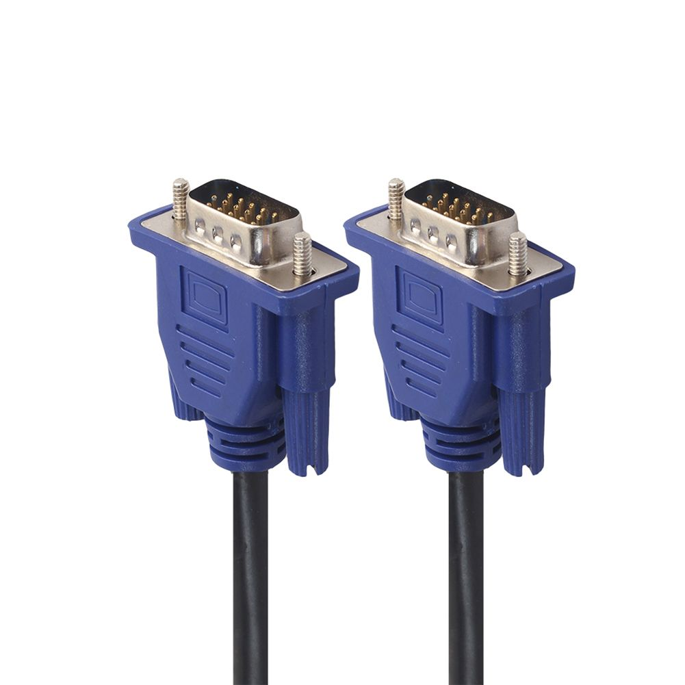 VGA Kabel HD 15 Pin Stecker auf Stecker Erweiterung Converter VGA Kabel Kupferkern Schwarz Kabel für Computer-Monitor projektor