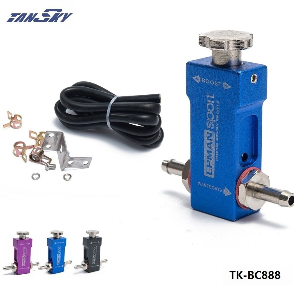 TANSKY -1-30PSI Manual Turbocharger Wastegate Boost Bypass Controller Universal Boost Tee Type For Ford Focus 98-12 TK-BC888