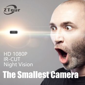 Xd IR-CUT كاميرا صغيرة أصغر 1080 وعاء كامل hd كاميرا للرؤية الليلية بالأشعة مايكرو كاميرا كشف الحركة dv