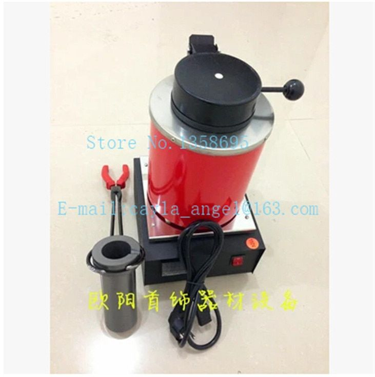 220v 2kg silver copper, silver, aluminum, iron, steel heating melting furnace,gold melting furnace,mini electric heating stove