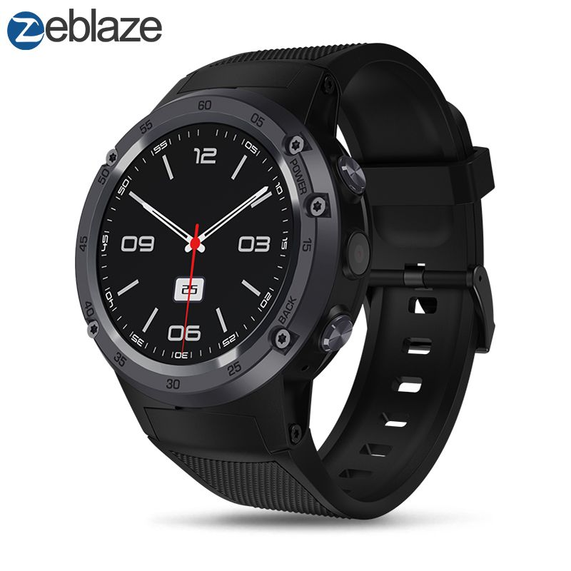 Neue Zeblaze THOR 4 Flagship 4g LTE SmartWatch Android 7.0 MTK6737 Quad Core 1 gb + 16 gb 5.0MP 580 mah 4g/3g/2g GPS Smat Uhr Männer