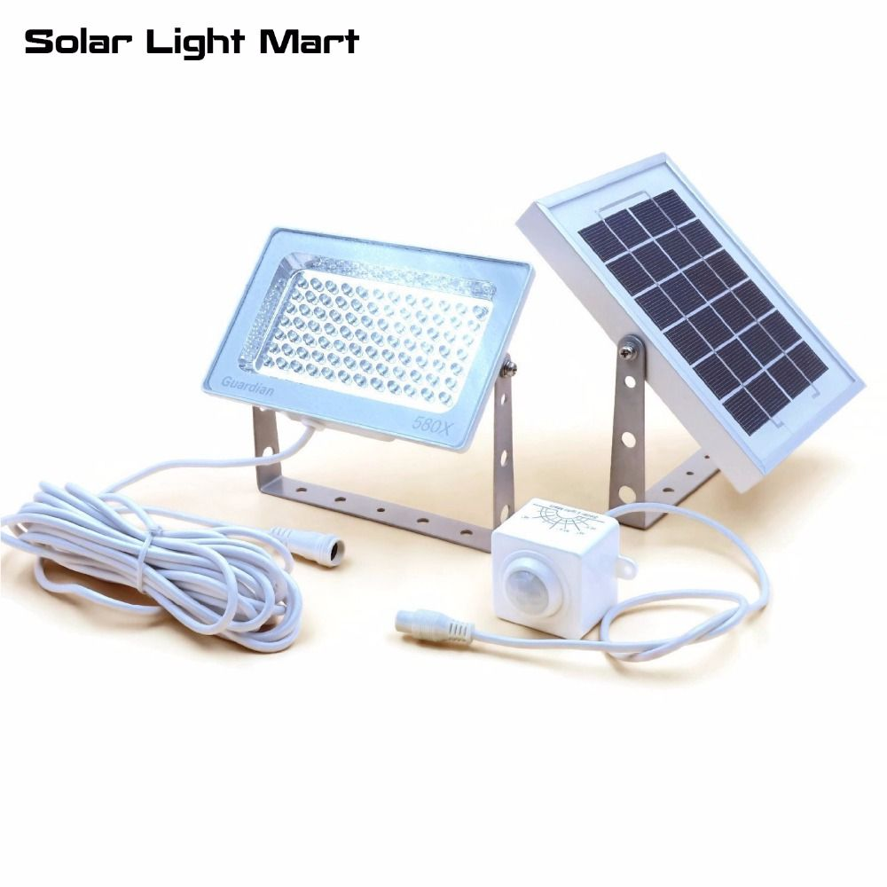 Guardian 580X 84LED 3 Lighting Modes Waterproof Outdoor Automatic Solar Powered PIR Motion Sensor LED Security Light