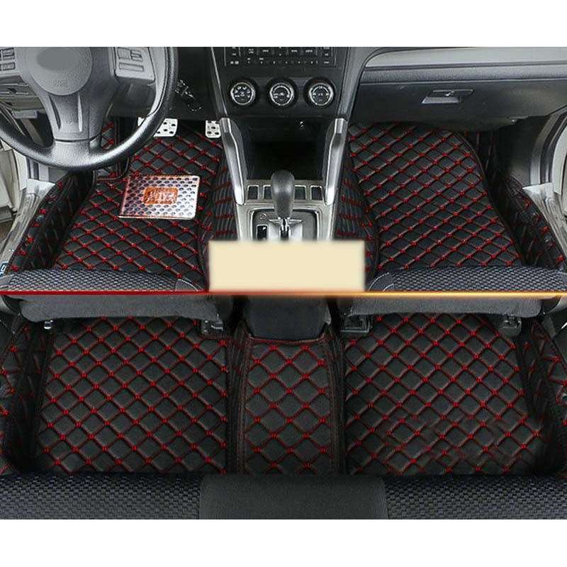 custom fit fiber leather car floor mat for subaru XV subaru Crosstrek Subaru Impreza 2011 2012 2013 2014 2015 2016