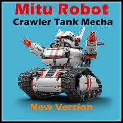 2017 New Mitu Robot Tank Mecha Crawler Base Xiaomi Mitu Building Block Robot Crawler Tank Version Controll By Smartphone Mihome