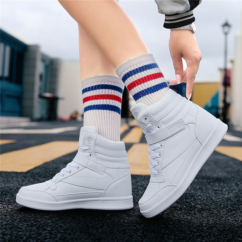 White Soft Fashion Autumn And Winter Women Snow Boots Brands Female Lncrease in Height Boots Comfortable Casual Footwears Hot