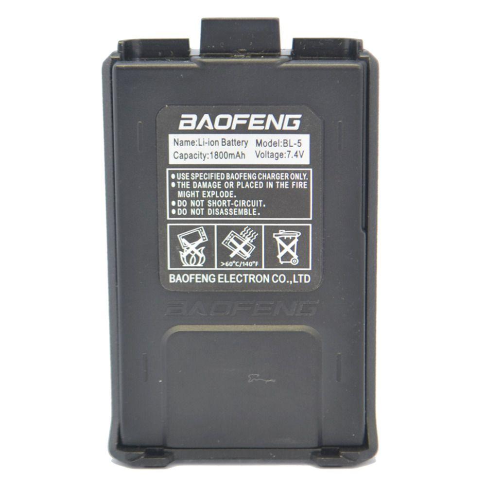 Baofeng UV5R Batterie 7.4 V/1800 mAh Rechargeable Batterie pour Baofeng UV 5R 5RA 5RB 5RC 5RD 5RE deux way radio