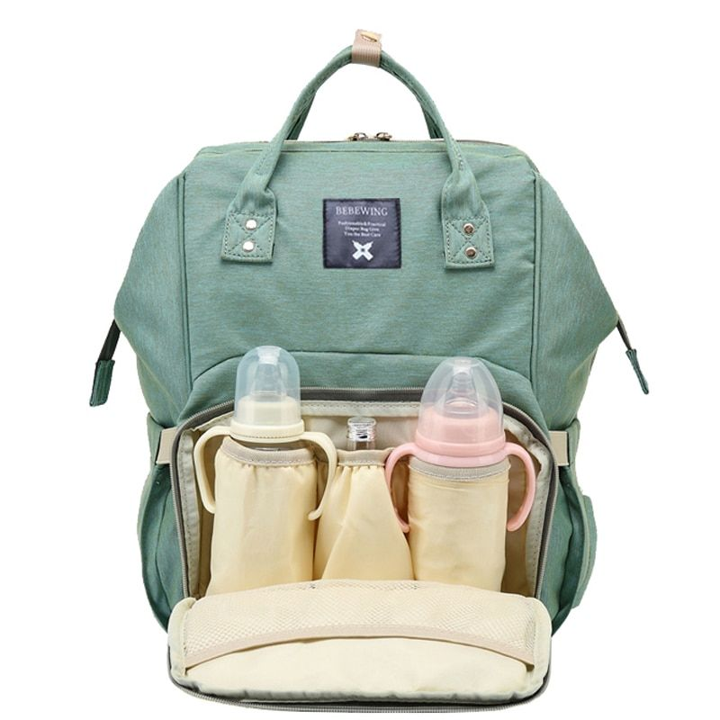 2017 Fashion Mummy Maternity Nappy Backpack Bag Large Capacity Mom Baby Multifunction Outdoor Travel Diaper Bags For Baby <font><b>Care</b></font>
