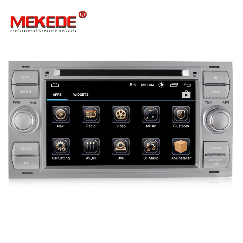 New Arrival! Quad core android8.0 radio car dvd player for Ford C-Max Connect Fiesta Fusion Galaxy Kuga Mondeo S-Max Focus