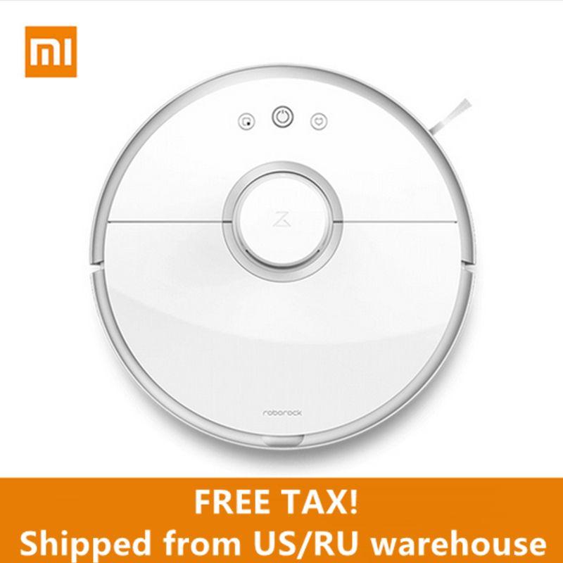 International Version Ship From US/RU Original Xiaomi Roborock S50 Sweep Wet Mop AppControl Xiaomi Robot Vacuum Cleaner 2%