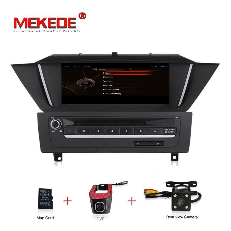 Freies verschiffen 9 zoll original Menü Quad Core Android Auto dvd player für BMW X1 E84 2009-2013 Mit auto GPS navi kamera DVR radio
