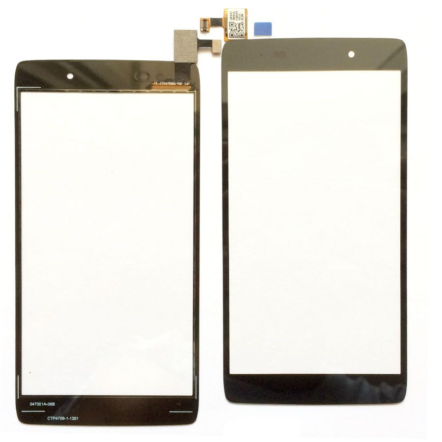 4.7 inch For Alcatel One Touch Idol 3 OT6039 6039 6039Y Touchscreen Sensor Touch Panel Screen Digitizer Mobile Phone 3m Tape