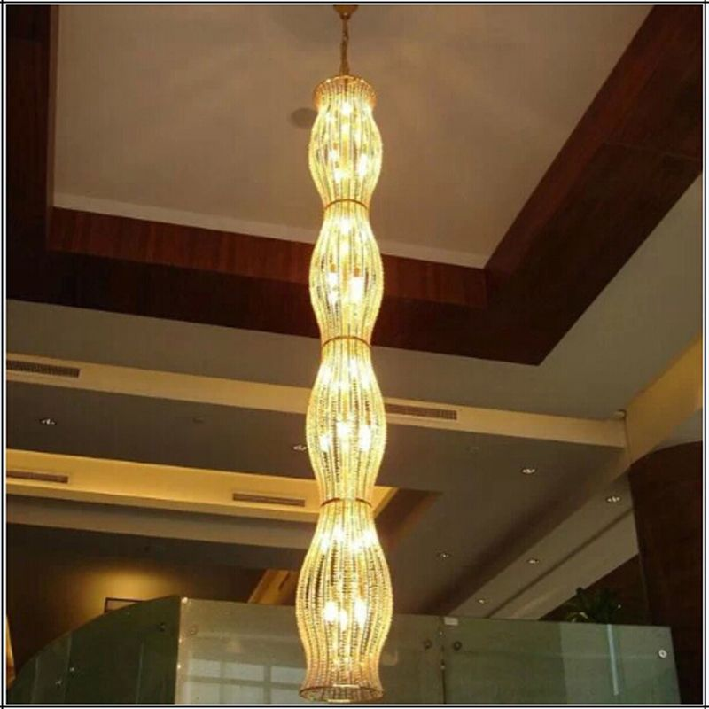 Fashion Contemporary LED chandelier Restaurant Light Creative Lanterns Lamps Dining Room Lighting Fixture chandelier crystal