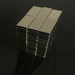 10 piezas 20*10*3mm súper fuerte imán de neodimio 20*10*3 NdFeB permanente fuerte imanes