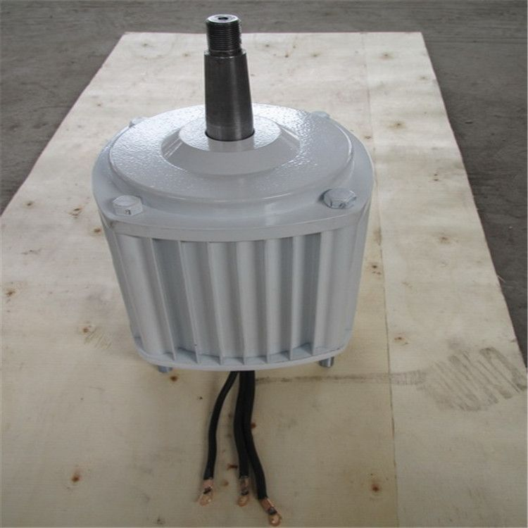 500W 400RPM low rpm horizontal wind & hydro alternator/ permanent magnet water power dynamotor hydro turbine