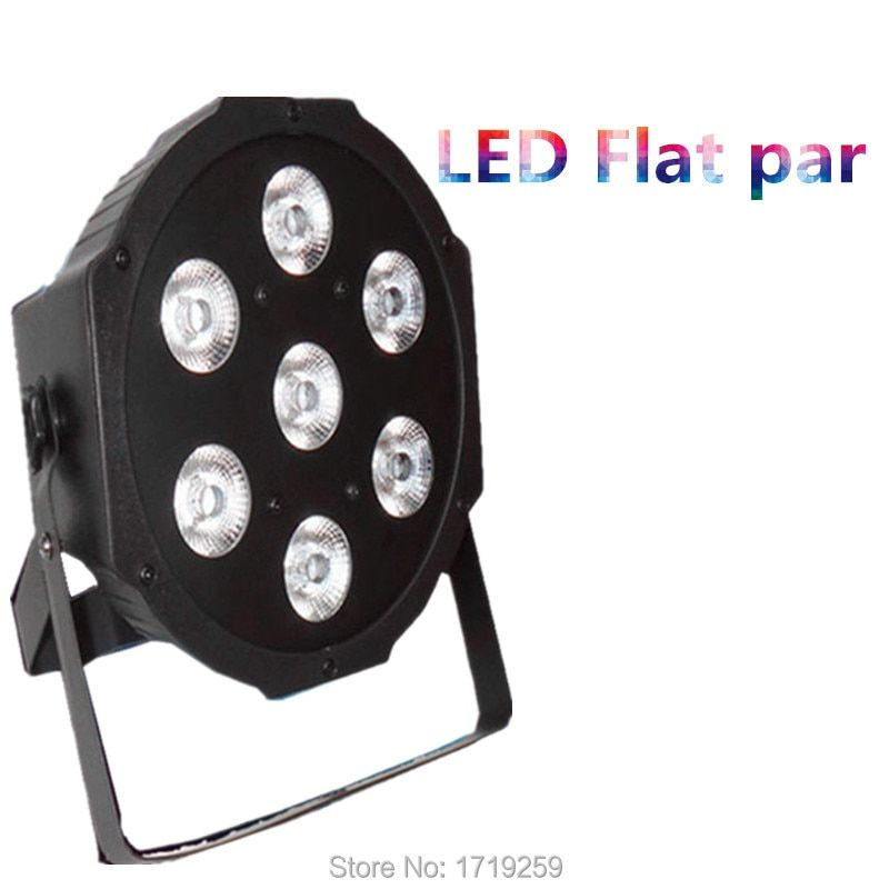 Fast Shipping American DJ Stage Lightings Disco LED Light Wash RGB Uplighting LED SlimPar Tri 7x9W LEDs  ,SHEHDS Stage Lighting