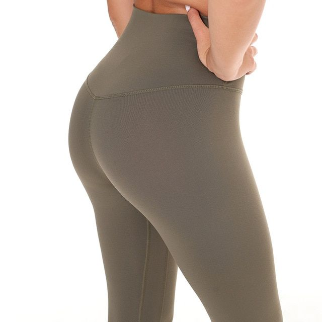 Women Tight Sports Capri Sexy Yoga Tummy Control Legggings 4 Way Stretch Fabric Non See Through Quality Free Shipping 17 Colors