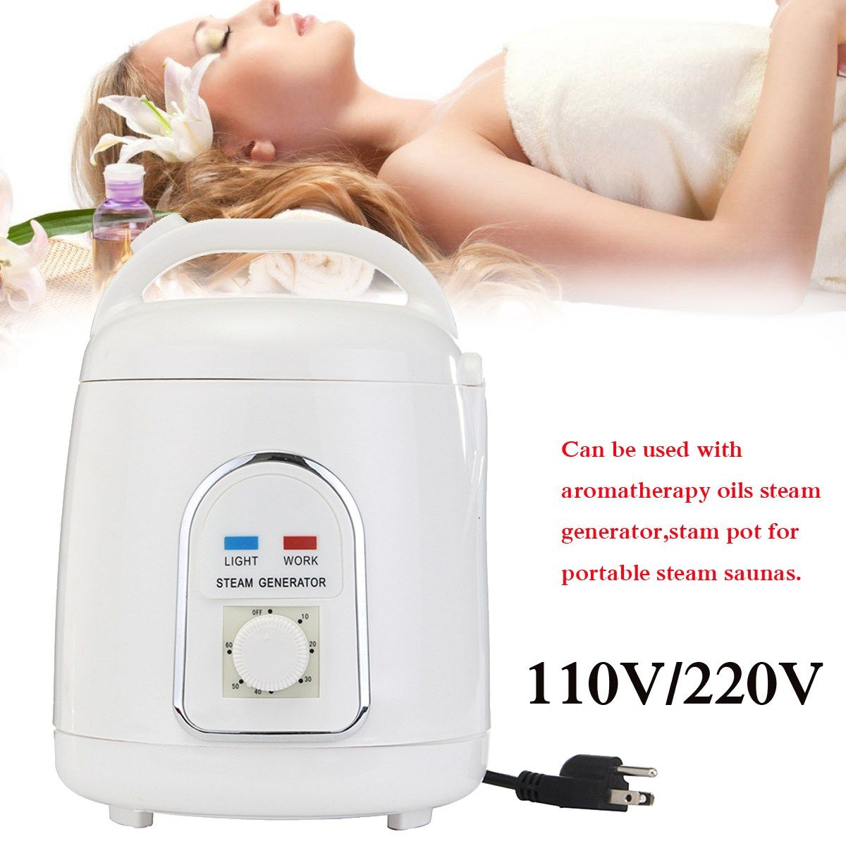 1.8 Litre Sauna Steam Bath Machine Portable Sauna Steam Generator infrared sauna Steamer Steam pot