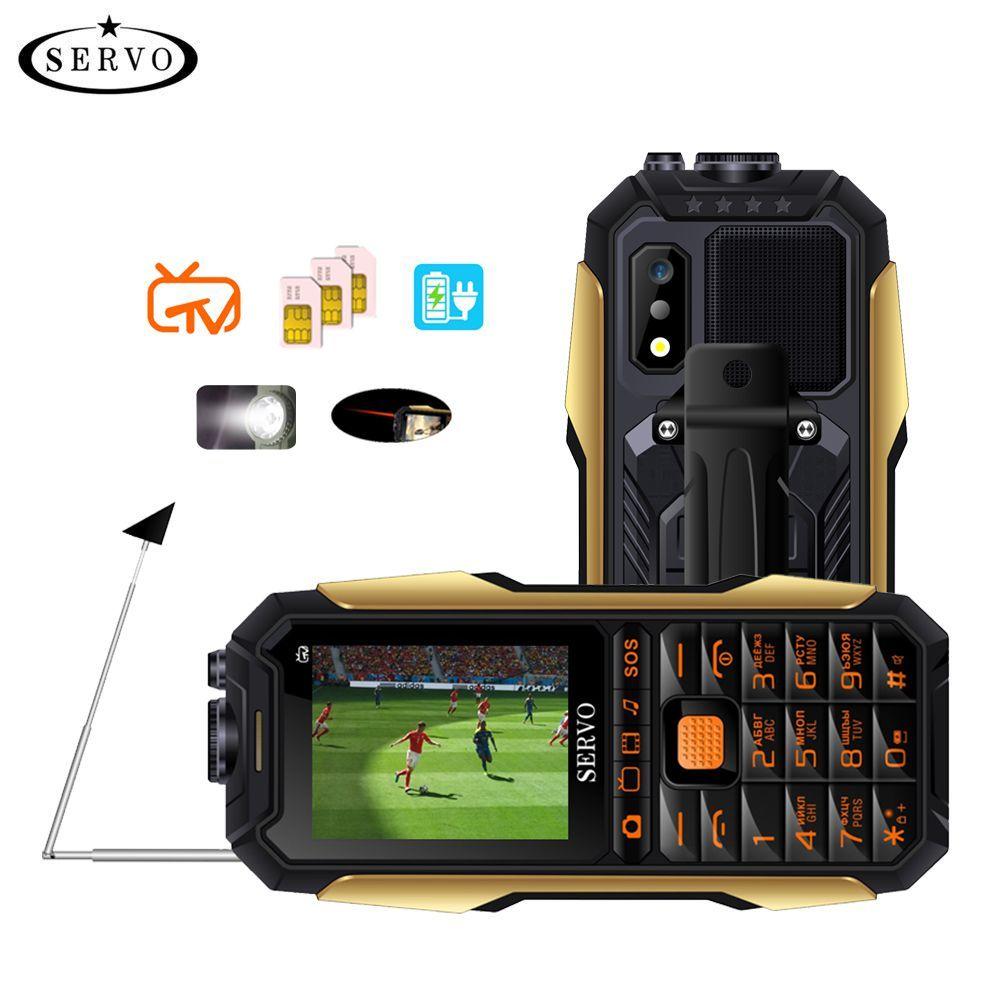 SERVO X7 Mobile Phone 3 SIM Cards 2.4
