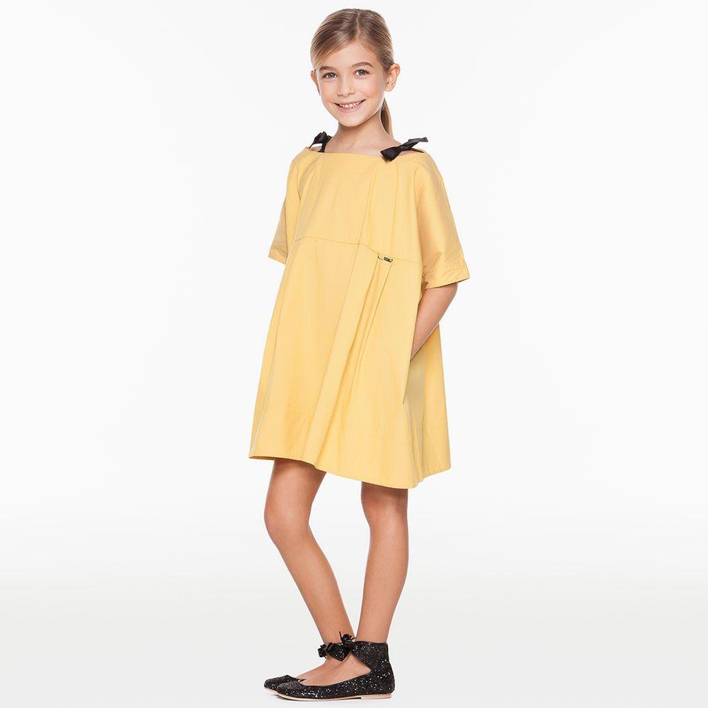 Enfants été automne décontracté fille princesse simplement Top qualité robe dame filles fête d'anniversaire robes enfants coton vêtements de bal