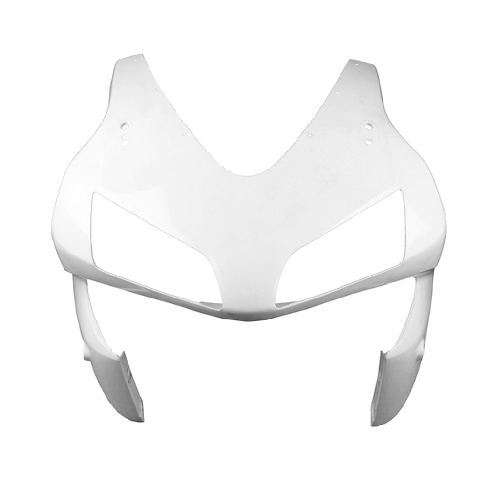 For Honda CBR600RR F5 Upper Front Nose Fairing Cowl 2003 2004 Motorbike Accessories Injection Mold ABS Plastic Unpainted White