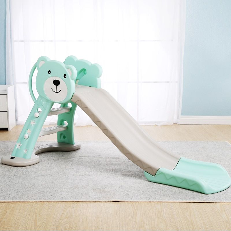Infant Shining Baby Toy Slide Lengthened and Thickening Kid Room Play Game Toys Can be Folded Indoor Children Park for 1-6Y