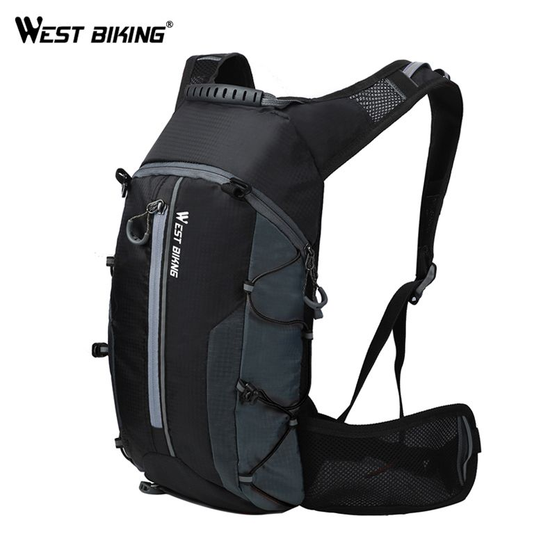 WEST BIKING Waterproof Bicycle Bag Cycling Backpack Breathable 10L Ultralight Bike Water Bag Climbing Cycling Hydration Backpack