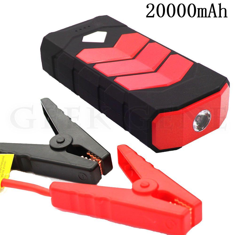 20000mAh Car Jump Starter 400A Portable Starter Power Bank 12V Petrol Diesel Starting Device Car Charger For Car Battery Booster