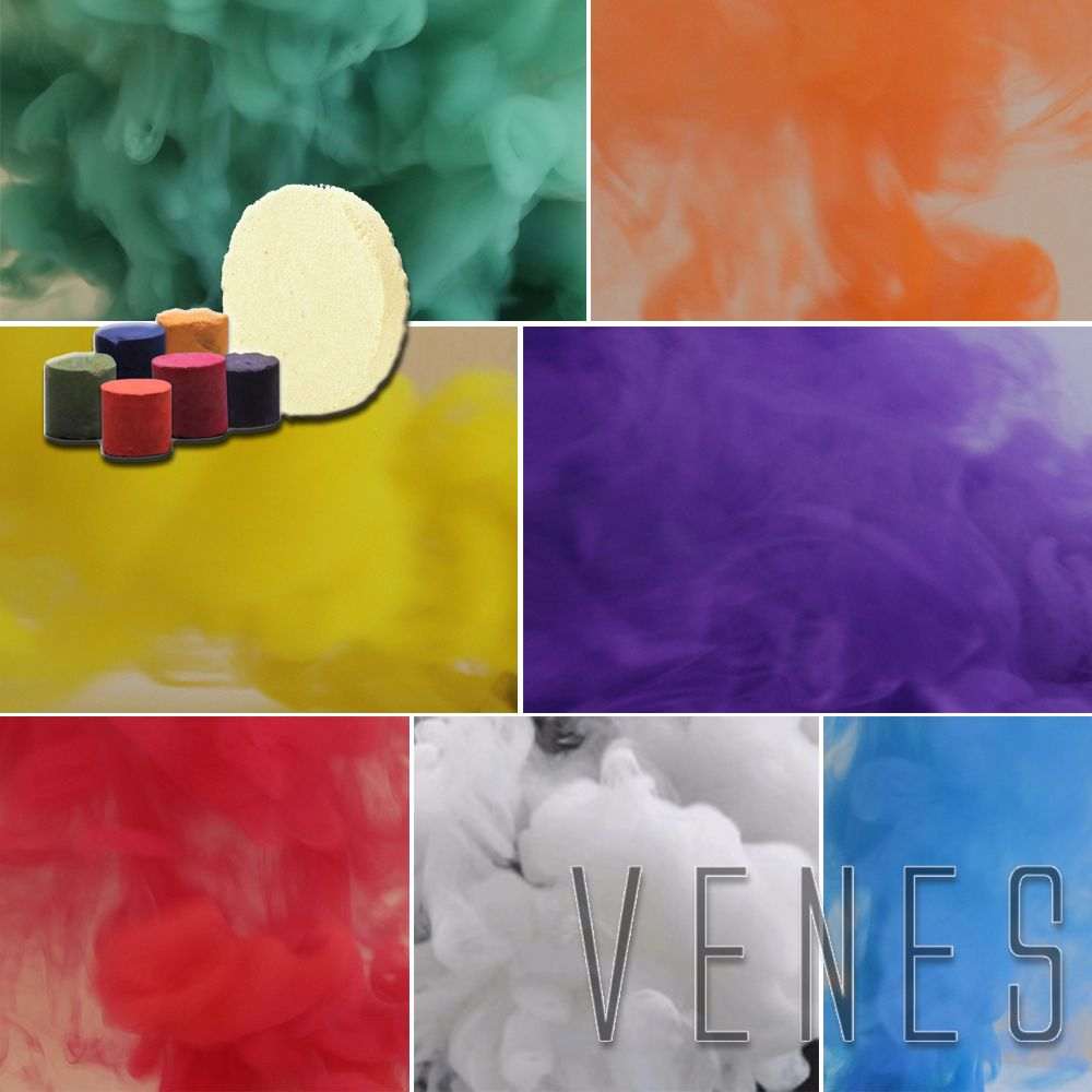 4 Color Studio Photography Props Smoke Cake Tobacco Cigarettes , Parties, for halloween night Smoke fog background & Advertising