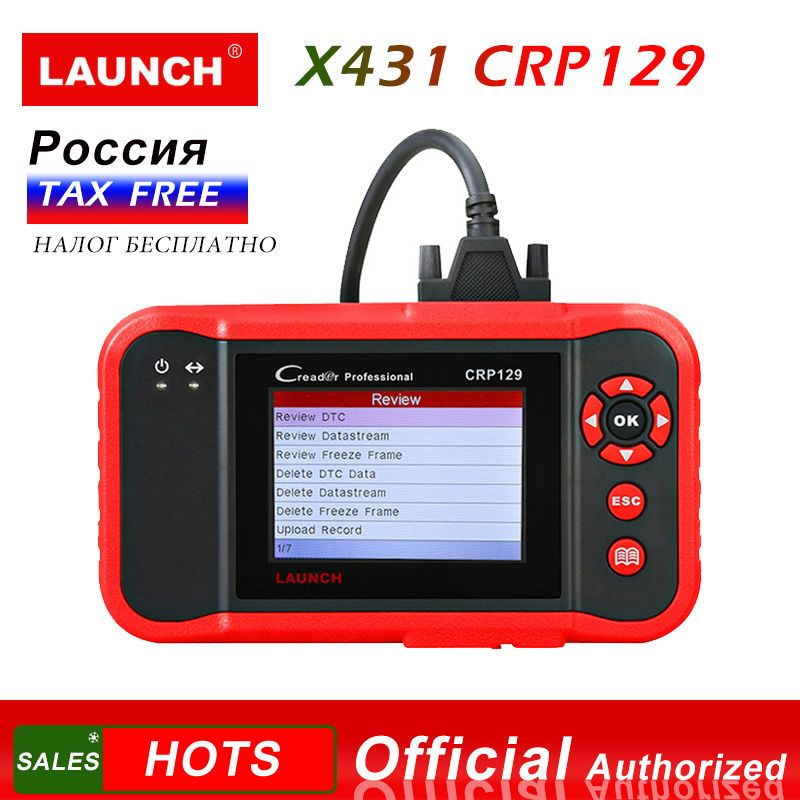 Starten X431 CRP129 Creader 129 Diagnose-Tool Code Reader obd 2 Starten diagnosen scanner automotive auto diagnosen CRP 123 VIII