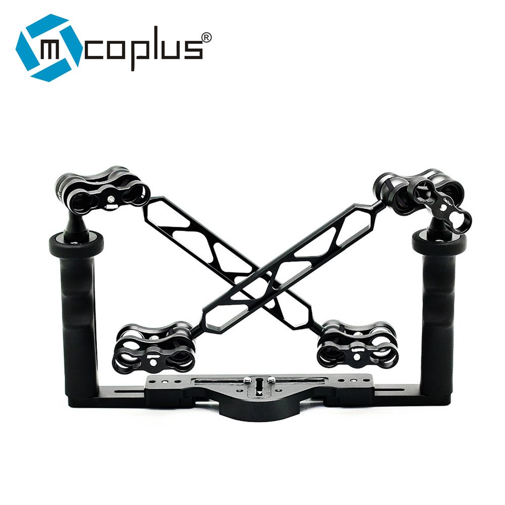 Mcoplus Underwater Tray Housings Arm kit for Gopro Action Camera Camera Waterproof Housing Video Dive Torch Flashlight TG5 A7III
