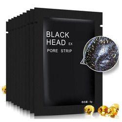 5 шт./лот черная маска для лица Уход за лицом для носа акне для удаления угрей минералы поры Очищающая маска черный головная полоска maquiagem
