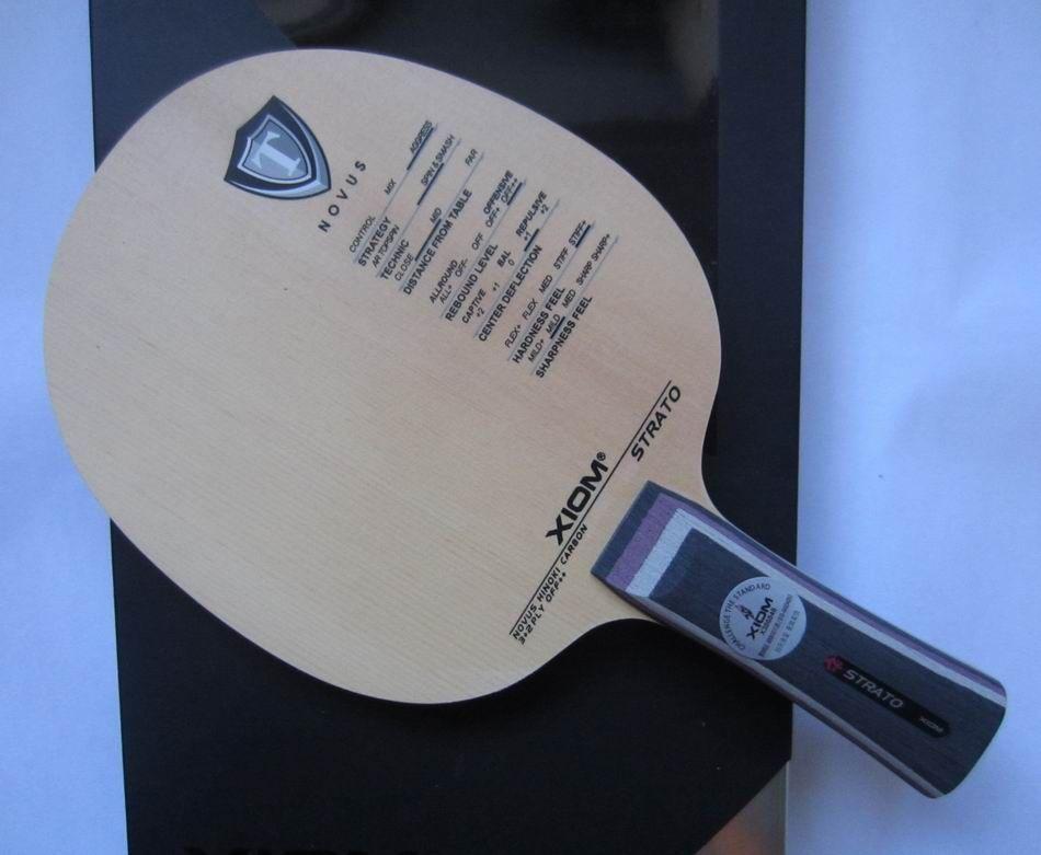 Original xiom strato tischtennis-blatt schläger sports indoor sports xiom tischtennis schläger chinesischen cypress klinge