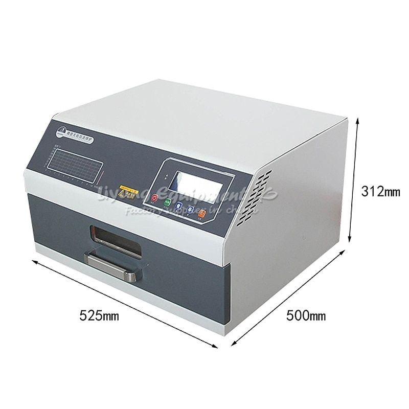 Infrared IC Heater T962C Digital Intelligent Reflow Soldering Oven for BGA SMD SMT Rework