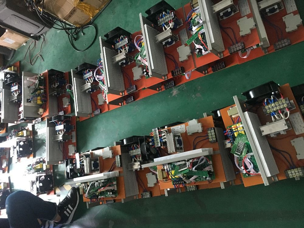 3000W PCB cleaning generator and transducer for industrial ultrasonic cleaning tank