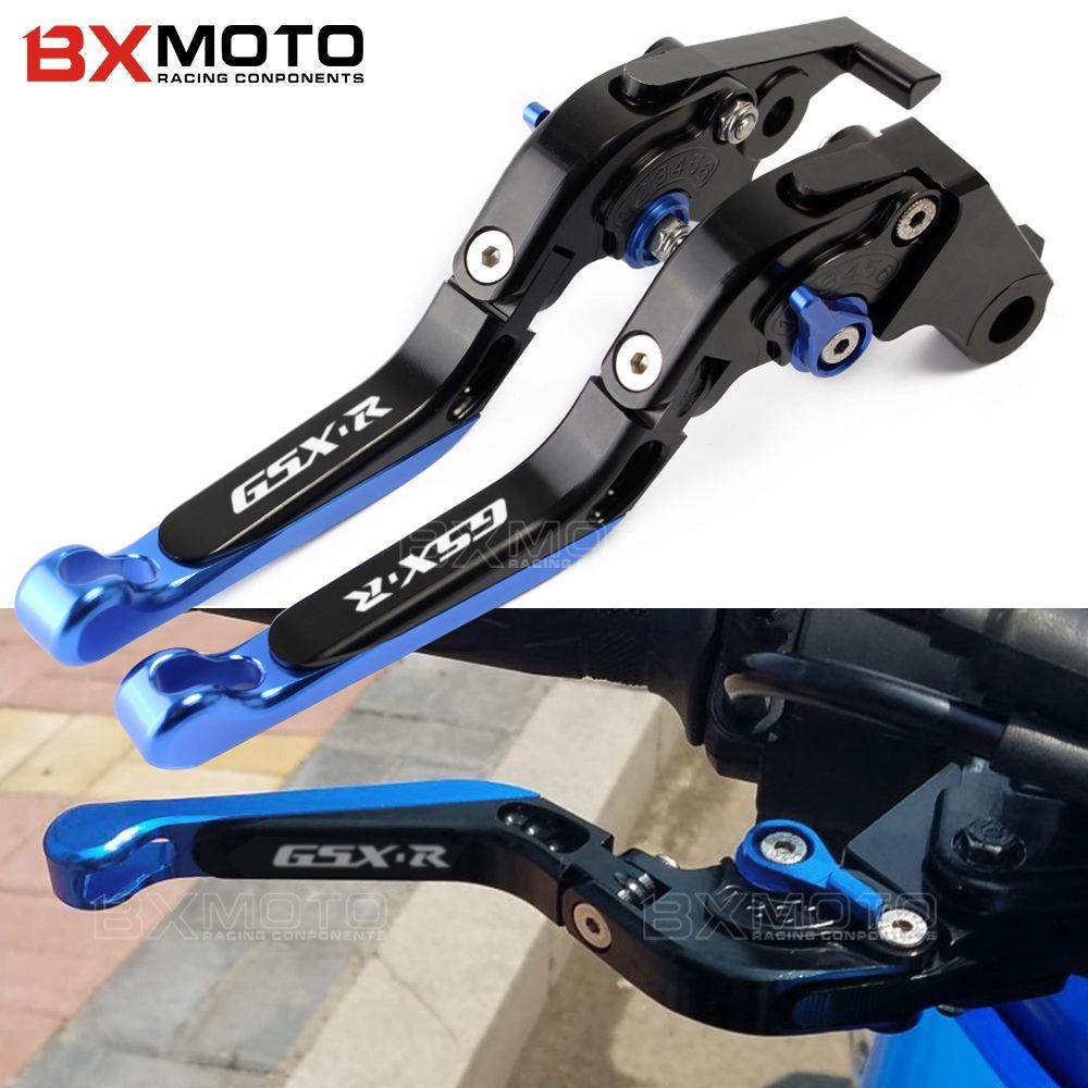Motorcycle Folding Extendable Brake Clutch Levers For SUZUKI GSXR 600 GSX-R 750 11-17 GSXR 1000 09-17 GSX-S1000 F ABS 2015-2017