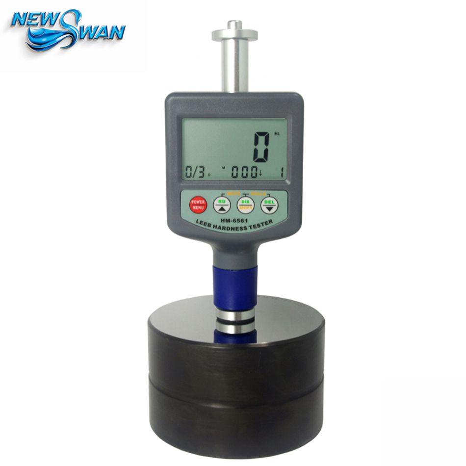 HM6561 Landtek Rebound Leeb Metall Härteprüfgerät Messinstrument-lehre 200 ~ 900 HLD Härteprüfer härte meter mit Eisen Block