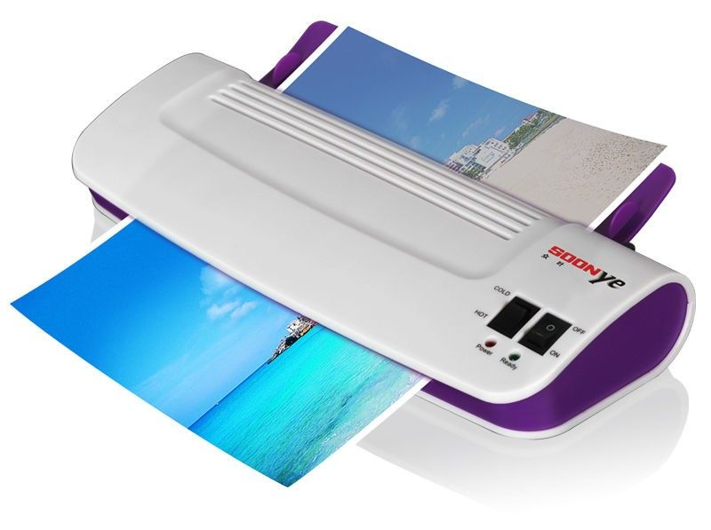 hot / cold rollor Thermal laminator Laminating Machine 289 laminador card photo