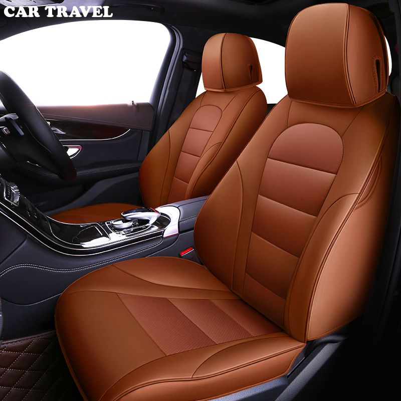 CAR TRAVEL Custom leather car seat cover for Opel Astra h j g mokka insignia Cascada corsa adam ampera Andhra zafira car-styling