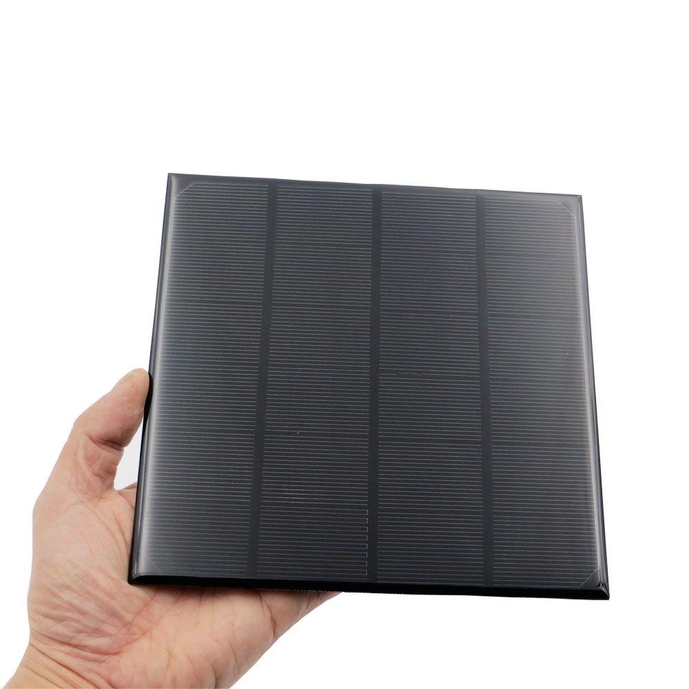 1 pc x 6 V 4.5 W 5 W 720mA Mini monocristallin polycristallin cellule solaire Panneau de batterie chargeur Pour Solaire lampe Batterie Jouets Téléphone