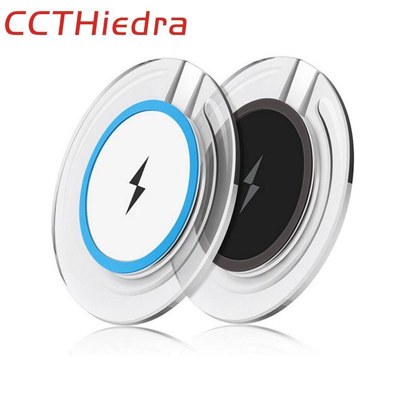 Ccthiedra бренд для Samsung Galaxy S7 S6 Edge Примечание 5 Примечание 8 Ци Беспроводной Зарядное устройство площадку для Samsung Galaxy S8 плюс телефон Зарядные уст...