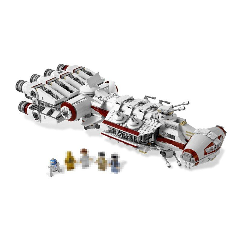 Lepin 05046 Star 1748Pcs Series Wars The Tantive IV Blockade Runner Building Blcoks Bricks Model DIY toys for children 10019