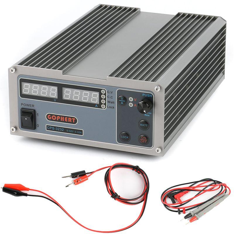 CPS-3232 DC power supply Adjustable Laboratory power supply 0-32V/0-32A 1024W 0.01V 0.01A