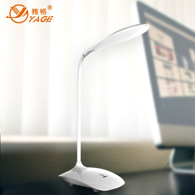 YAGE YG-5930 led table lamp LED Desk Lamp <font><b>Book</b></font> reading Desk Light Night light office lamp flexible lamp table light Non-limit