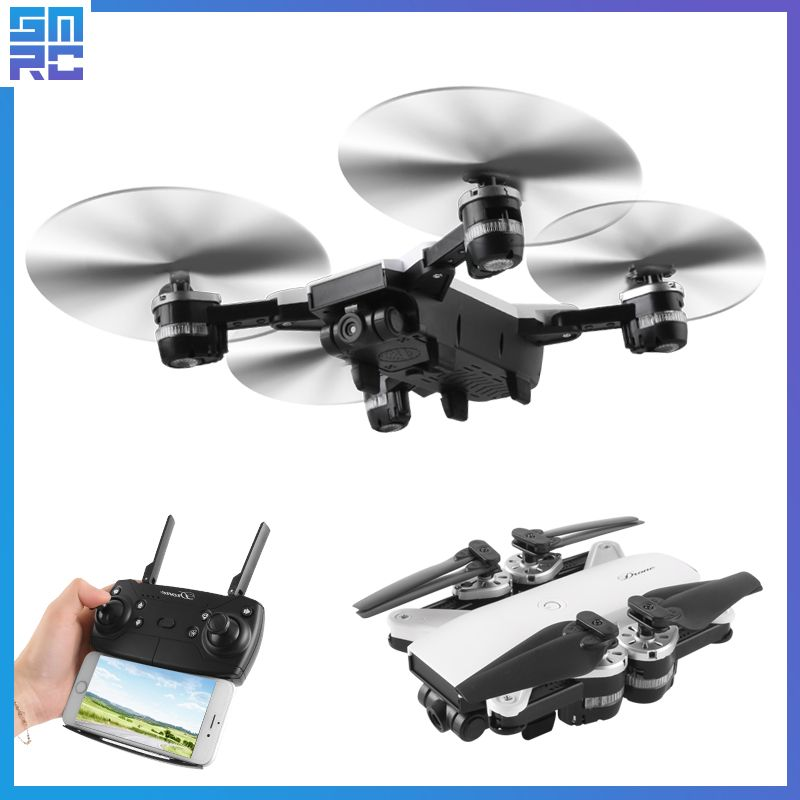 JD-20 JD20 WIFI FPV With 2MP Wide Angle Camera High Hold Mode Foldable Arm RC Quadcopter RTF Selfie Drone Drones with camera hd