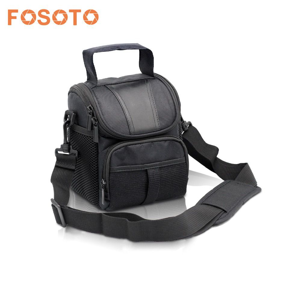 Fosoto DSLR Camera Bag Case Pour Nikon D3400 D5500 D5300 D5200 D5100 D5000 D3200 pour Canon EOS 750D 1100D 1200D 700D 600D 550D