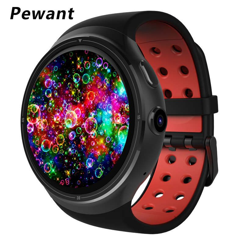 New Pewant Z10 Android 5.1 Smart Watch 1GB 16GB MTK6580 Quad Core 1.39